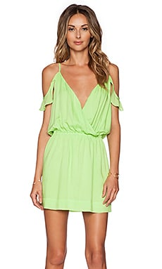 Sofia by Vix Swimwear Candice Mini Dress in Green