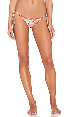 SOFIA by Vix Swimwear Ripple Tie Side Bikini Bottom in Provence