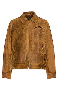 Duke Unlined Rough Suede Jacket Schott $860