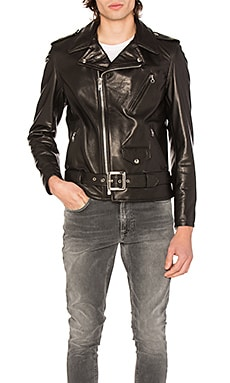 Pebbled Moto Jacket Schott $880