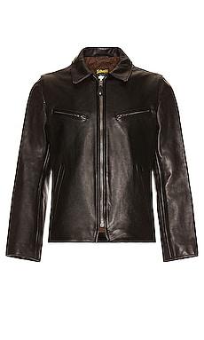 James Men's Retro Style Naked Cowhide Jacket Schott $825