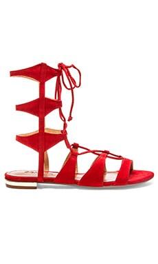 Schutz Erlina Sandal in Scarlet
