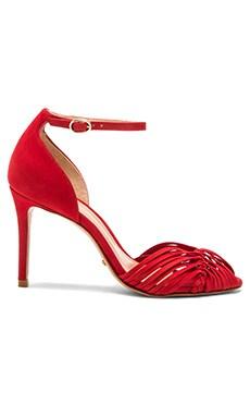 Schutz Efelna Heel in Scarlet