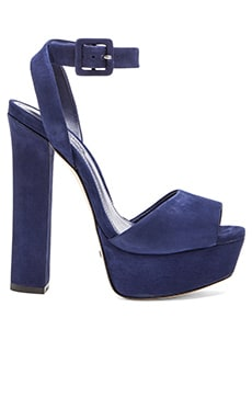 Schutz Amatista Heel in Dress Blue