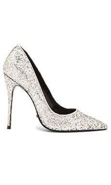 Schutz Caiolea Heel in Silver
