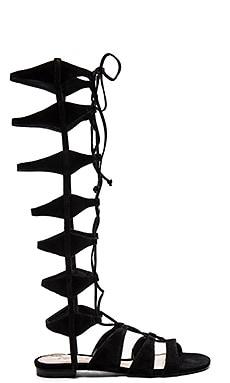 Schutz Violetta Sandal in Black