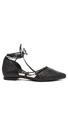 Nifertite Ballet Flat in Black