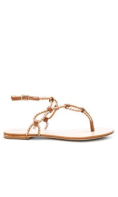 Veda Sandal in Wood & Platina
