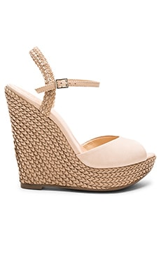 Schutz Mable Wedge in Oyster