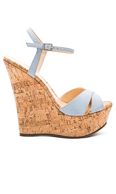 Emiliana Wedge in Jeans