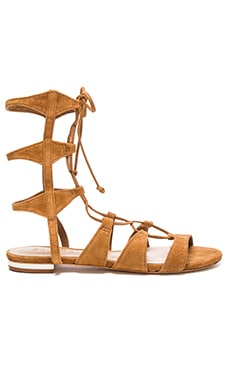 Schutz Erlina Sandal in Brownie