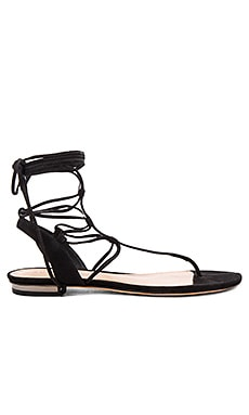 Schutz Leona Sandal in Black