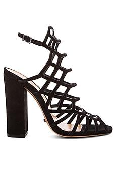 Schutz Jaden Heel in Black