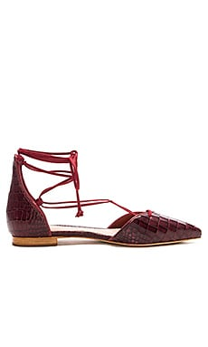 Neida Flat in Red Wine