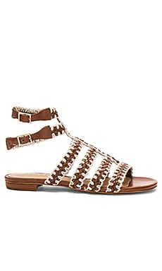 Lorena Sandal in Saddle