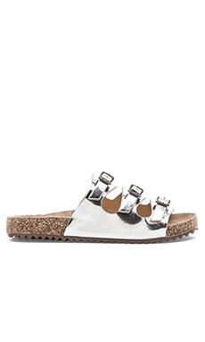 Schutz Maiara Sandal in Lime