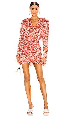 Printed Mini Dress SELMACILEK $312 Sustainable
