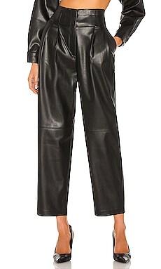 Vegan Leather Trousers SELMACILEK $315