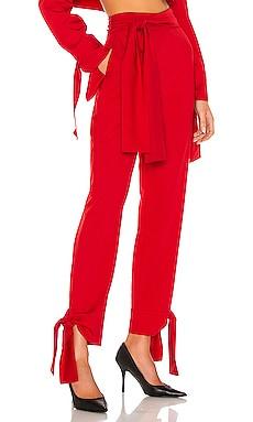 Tie Detailed Trousers SELMACILEK $335