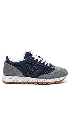 Saucony Jazz O Denim in Blue