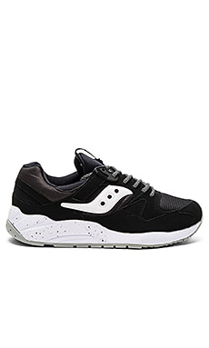 Saucony Grid 9000 in Black & White