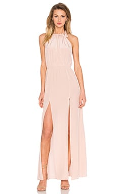 STONE_COLD_FOX Onyx Gown in Dusty Rose