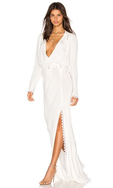 STONE_COLD_FOX Bianca Gown in Ivory
