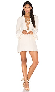 x REVOLVE Franklin Dress in Ivory
