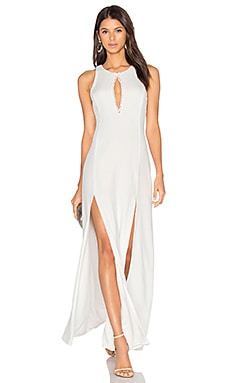 x REVOLVE Owen Gown in White
