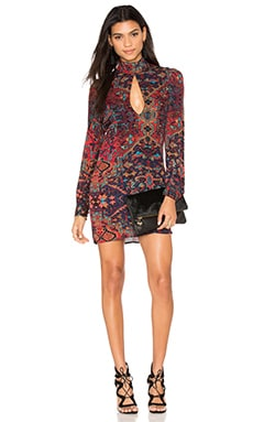 STONE_COLD_FOX Victoria Dress in Carpet Print
