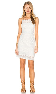 Chorus Dress in White Lace