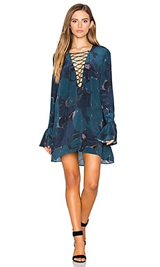 x REVOLVE Franklin Dress in Blue Lilypad