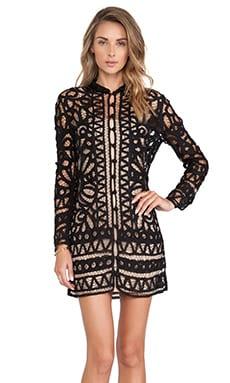 STONE_COLD_FOX Topeka Dress in Black