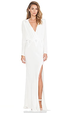 STONE_COLD_FOX Alabama Gown in White