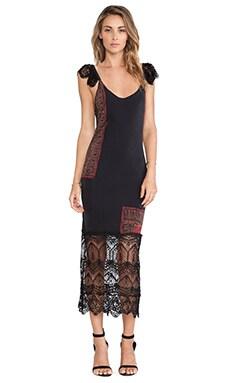 STONE_COLD_FOX Arizona Dress in Violante Print