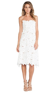 STONE_COLD_FOX Tennessee Dress in White