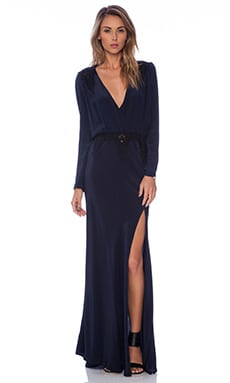 Alabama Gown in Navy & Black