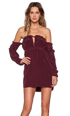 STONE_COLD_FOX River Dress in Plum
