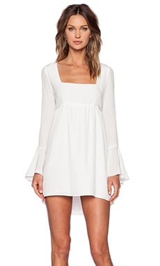 STONE_COLD_FOX Farrah Dress in White