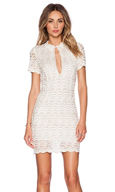 STONE_COLD_FOX Luke Dress in White