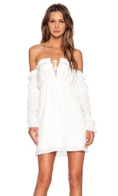 STONE_COLD_FOX River Dress in White