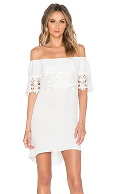 STONE_COLD_FOX Bonita Short Dress in White