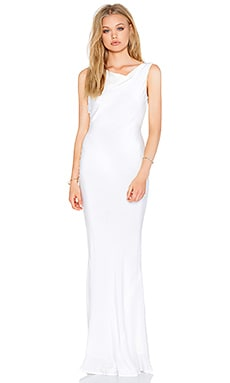 STONE_COLD_FOX Delarosa Gown in White