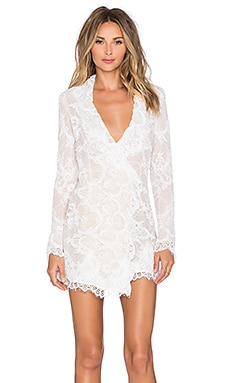 STONE_COLD_FOX Fillmore Dress in White Lace