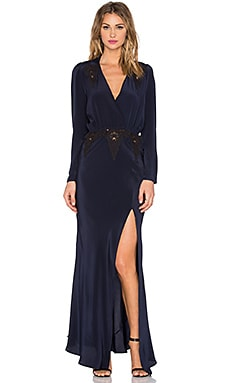 STONE_COLD_FOX x REVOLVE Birkin Gown in Navy