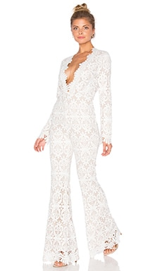 STONE_COLD_FOX Saint Jumpsuit in White