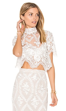 Stella Crop Top in White
