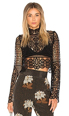 Perkins Crop Top