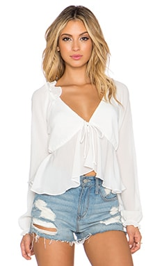 STONE_COLD_FOX Chaos Blouse in White