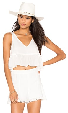 Skye Crop Top in White